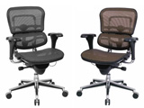 Ergohuman Chairs Ergonomic seating meshed chairs Raynor