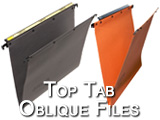 Top Tab Oblique file pockets filing drawer executive file compartments. Superior hanging folders with a 5 and 10 year warranty Top magnified color coded labels make finding files easy parts include: EXLT, EXLG, ESEXLG, ESEXLT, MCL