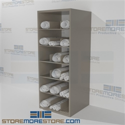 Construction Blueprint Plan Drawing Storage Racks Metal