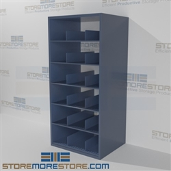 Adjustable rolled poster racks rolled print storage for Architectural plan racks