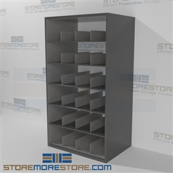 Rolled Poster Storage Shelving Plan Drawing Roll Racks