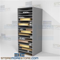 Blueprint Flat Shelf Storage Racks Over Sized Architect