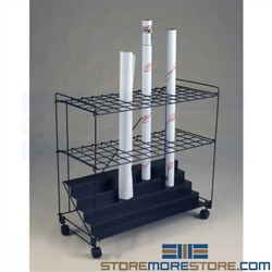 60 2 1 2 openings rolled plan storage rolled plan for Architectural plan racks