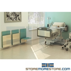 Healthcare Foldaway Wall Chairs Wall Mounted Anti