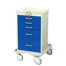 Mobile Drawer Cart Rolling Medical 5 Drawer Medical