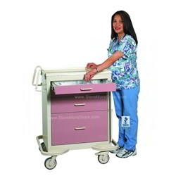 Acls Critical Care Cart With Drawers Amp Breakaway Lock