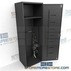 Long Gun Storage Lockers Locking Weapons Cabinets
