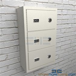 Police Wall Lockers Small Arms Storage Cabinets Ammo