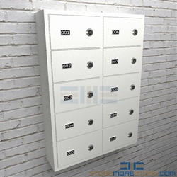 Locking Small Arm Cubbies High Security Sidearm Cabinets