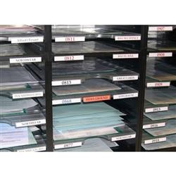 Styromega Mail Sorting Trays Label Holder Part Number