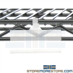 Shelf Label Holders For Wire Racks Snapping Shelving