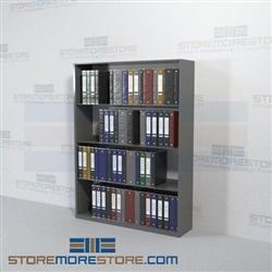 Medical Chart Binder Office Racks Storage Shelves Four