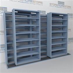 Mobile Sliding Filing Shelves B232lt 4p7 Sideways