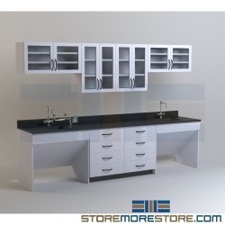 Chemical Laboratory Casework Cabinets Resin Trespa Counter