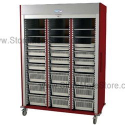 Ms8160 Vasc Medical Cart With Locking Roll Down Door