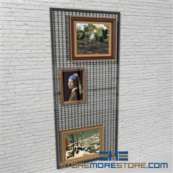 Artwork Wire Mesh Wall Display Panels Hanging Art