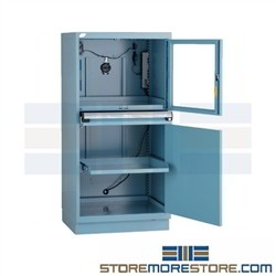 Dust Proof Computer Cabinet Enclosure Drawer Cabinet