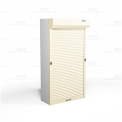 Pull Down Shelving Security Doors Locking Shutters For